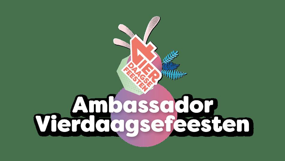 Placeholder for Ambassador Vierdaagsefeesten wit