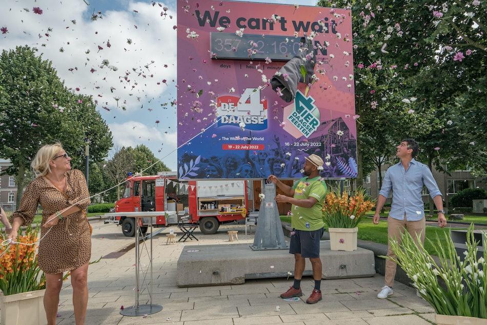 Placeholder for Onthulling aftelklok Vierdaagsefeesten2021 Jan Willem de Venster 12