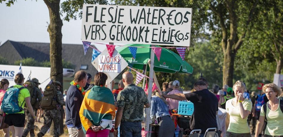 Placeholder for Eten en drinken langs parcours Vierdaagse foto Toon de Vos