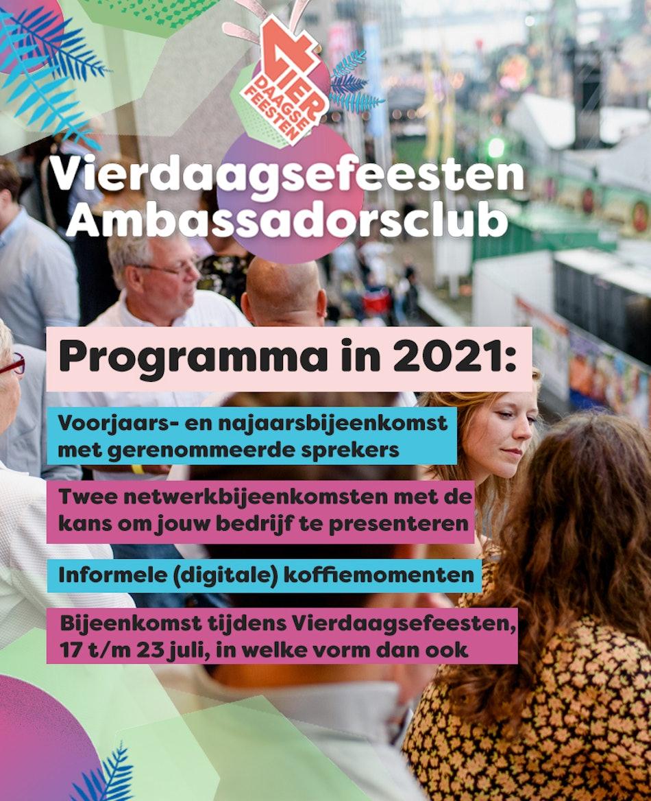 Placeholder for Programma ambassadorsclub